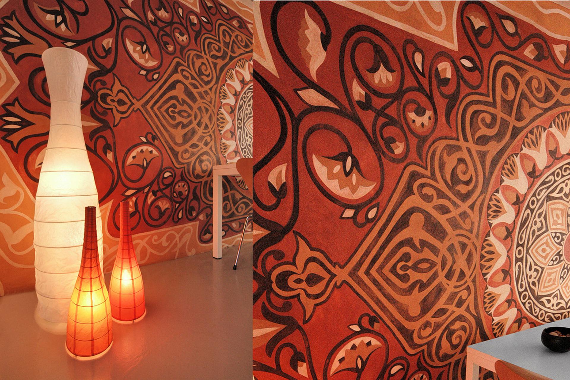Interior wall art